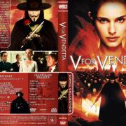 V for Vendetta (2005) R2 German Custom Cover
