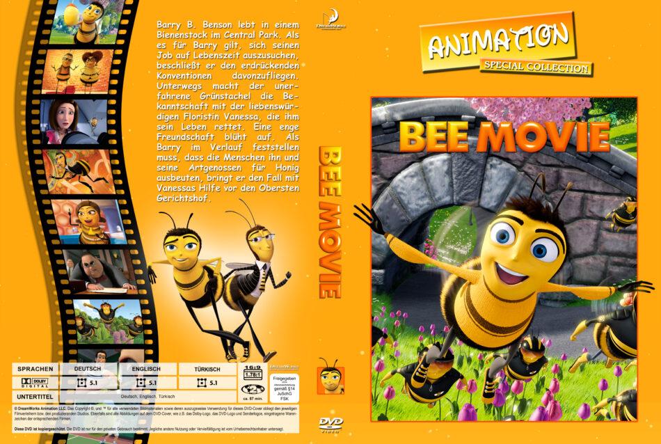 Bee Movie Das Honigkomplott Dvd Cover 2007 R2 German