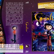 Coraline (2009) R2 German Custom Cover