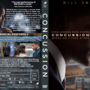 Concussion (2015) R1 Custom Cover & label