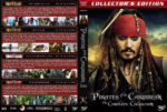 Pirates of the Caribbean: The Complete Collection (2003-2011) R1 Custom Covers