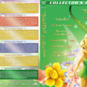 TinkerBell Collection (6 movie set) (2008-2014) R1 Custom Cover