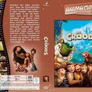 Die Croods (2013) R2 German Custom Cover