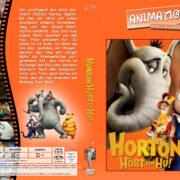 Horton hört ein Hu (2008) R2 German Custom Cover