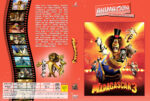 Madagascar 3: Flucht durch Europa (2012) R2 German Custom Cover
