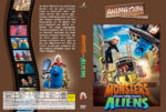 Monsters vs. Aliens (2009) R2 German Custom Cover
