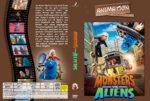 Monsters vs. Aliens (2009) R2 German Custom Cover