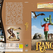 Rango (2011) R2 German Custom Cover