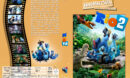 Rio 2 - Dschungelfieber (2014) R2 German Custom Cover
