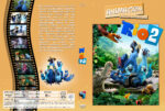 Rio 2 – Dschungelfieber (2014) R2 German Custom Cover