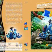 Rio 2 - Dschungelfieber (2014) R2 German Custom Cover