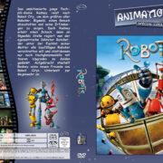 Robots (2005) R2 German Custom Cover