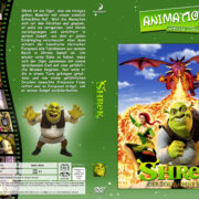 Shrek – Der tollkühne Held (2001) R2 German Custom Cover