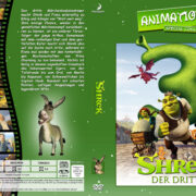 Shrek der Dritte (2007) R2 German Custom Cover
