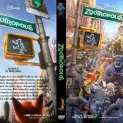 Zootopia (Zootropolis) (2016) R0 CUSTOM Cover & label