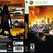 Need For Speed Undercover (2008) XBOX 360 USA Cover