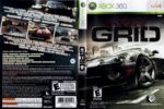 Race Driver GRID (2008) XBOX 360 USA Cover