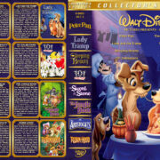 Walt Disney Pictures Presents - Set 2 (1953-1973) R1 Custom Cover