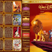 Walt Disney Pictures Presents - Set 4 (1992-2000) R1 Custom Cover