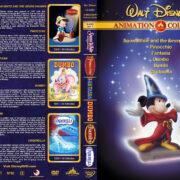 Walt Disney's Classic Animation – Set 1 (1937-1950) R1 Custom Cover