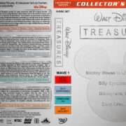 Walt Disney Treasures – Wave 1 (1929-1970) R1 Custom Cover