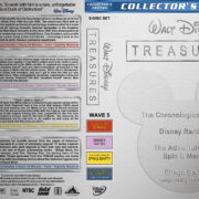 Walt Disney Treasures – Wave 5 (1920-1966) R1 Custom Cover