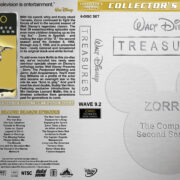 Walt Disney Treasures – Wave 9.2 (1958-1959) R1 Custom Cover