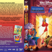 Emperor's / Kronk's New Groove Double Feature (2000/2005) R1 Custom Cover