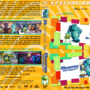Monsters Inc. / Monsters University Double Feature (2001/2013) R1 Custom Cover