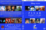 Pixar Short Films Collection – Volumes 1 & 2 (2007/2012) R1 Custom Cover