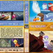 The Rescuers Double Feature (1977/1990) R1 Custom Cover