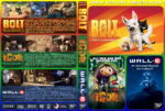 Bolt / Igor / Wall•E Triple Feature (2008) R1 Custom Cover