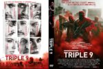 Triple 9 (2016) R0 CUSTOM Cover & label