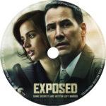 Exposed (2016) R1 CUSTOM DVD Label