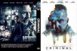 Criminal (2016) R0 CUSTOM Cover & label