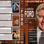 Harrison Ford Collection – Set 4 (1981-1986) R1 Custom Cover