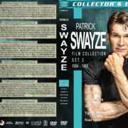 Patrick Swayze Collection – Set 2 (1984-1989) R1 Custom Cover