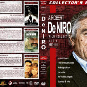 Robert DeNiro Collection – Set 5 (1987-1990) R1 Custom Cover