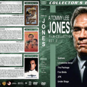Tommy Lee Jones Collection – Set 3 (1988-1992) R1 Custom Cover