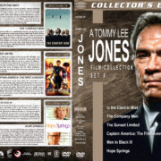 Tommy Lee Jones Collection – Set 8 (2009-2012) R1 Custom Cover