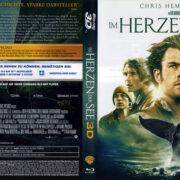 Im Herzen der See 3D (2015) R2 Blu-Ray Cover & labels