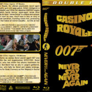 007 Double: Casino Royale / Never Say Never Again (1967/1983) R1 Custom Blu-Ray Cover