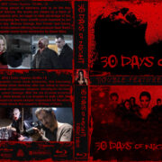 30 Days of Night Double Feature (2007/2010) R1 Custom Blu-Ray Covers