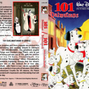 101 Dalmatians Double Feature (1961/2003) R1 Custom Blu-Ray Cover