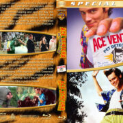 Ace Ventura Double Feature (1994/1995) R1 Custom Blu-Ray Cover
