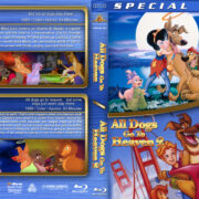 All Dogs Go to Heaven Double Feature (1989/1996) R1 Custom Blu-Ray Cover
