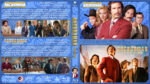 Anchorman Double Feature (2004/2013) R1 Custom Blu-Ray Cover