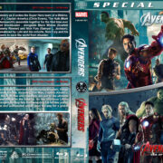 The Avengers Double Feature (2012/2015) R1 Custom Blu-Ray Covers