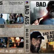 Bad Ass Double Feature (2012/2014) R1 Custom Blu-Ray Cover