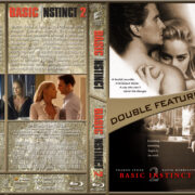 Basic Instinct Double Feature (1992/2006) R1 Custom Blu-Ray Cover